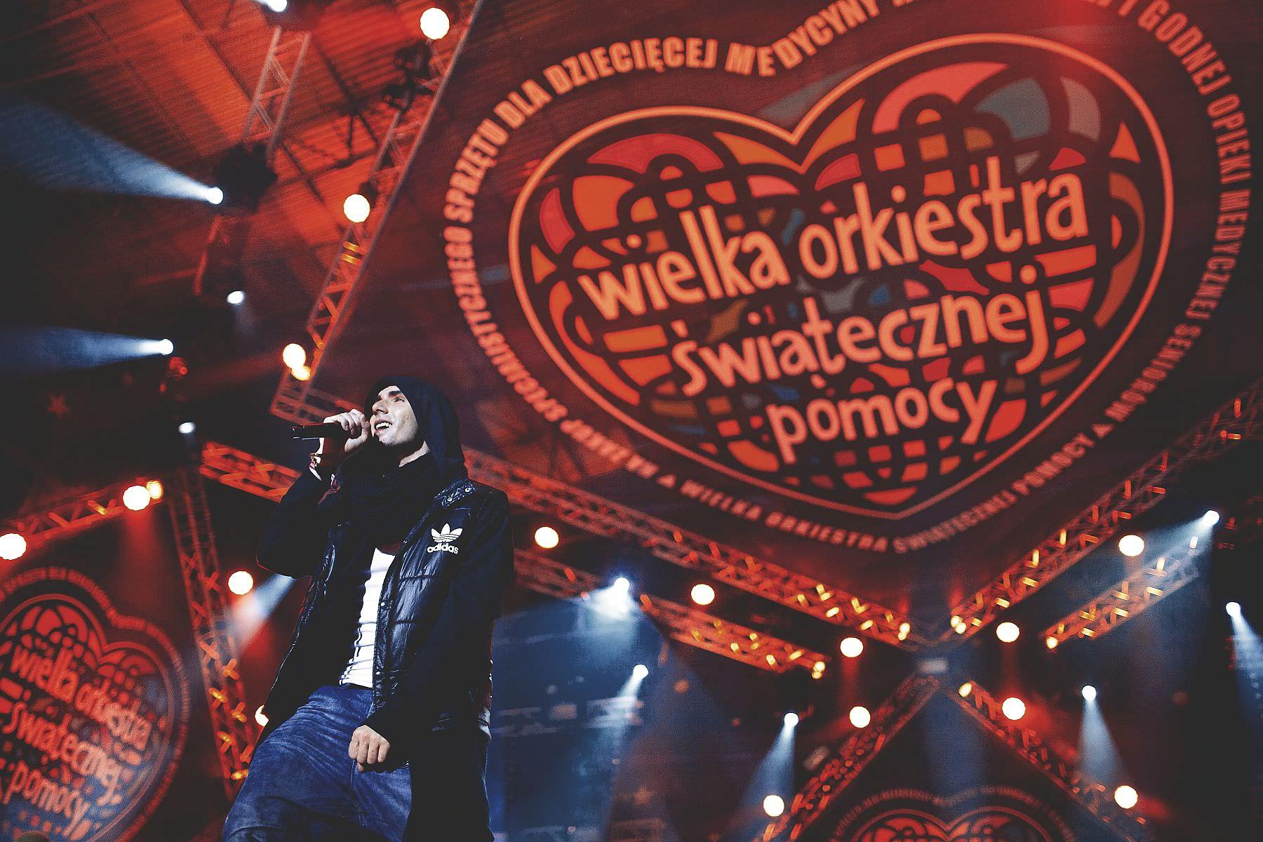 Warszawa – 22 Finał Wielkiej Orkiestry Świątecznej Pomocy (12 stycznia 2014).