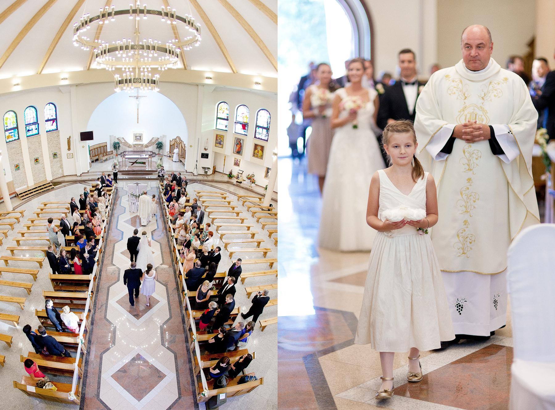 Ślubnie. Asia i Rafał – ceremonia.