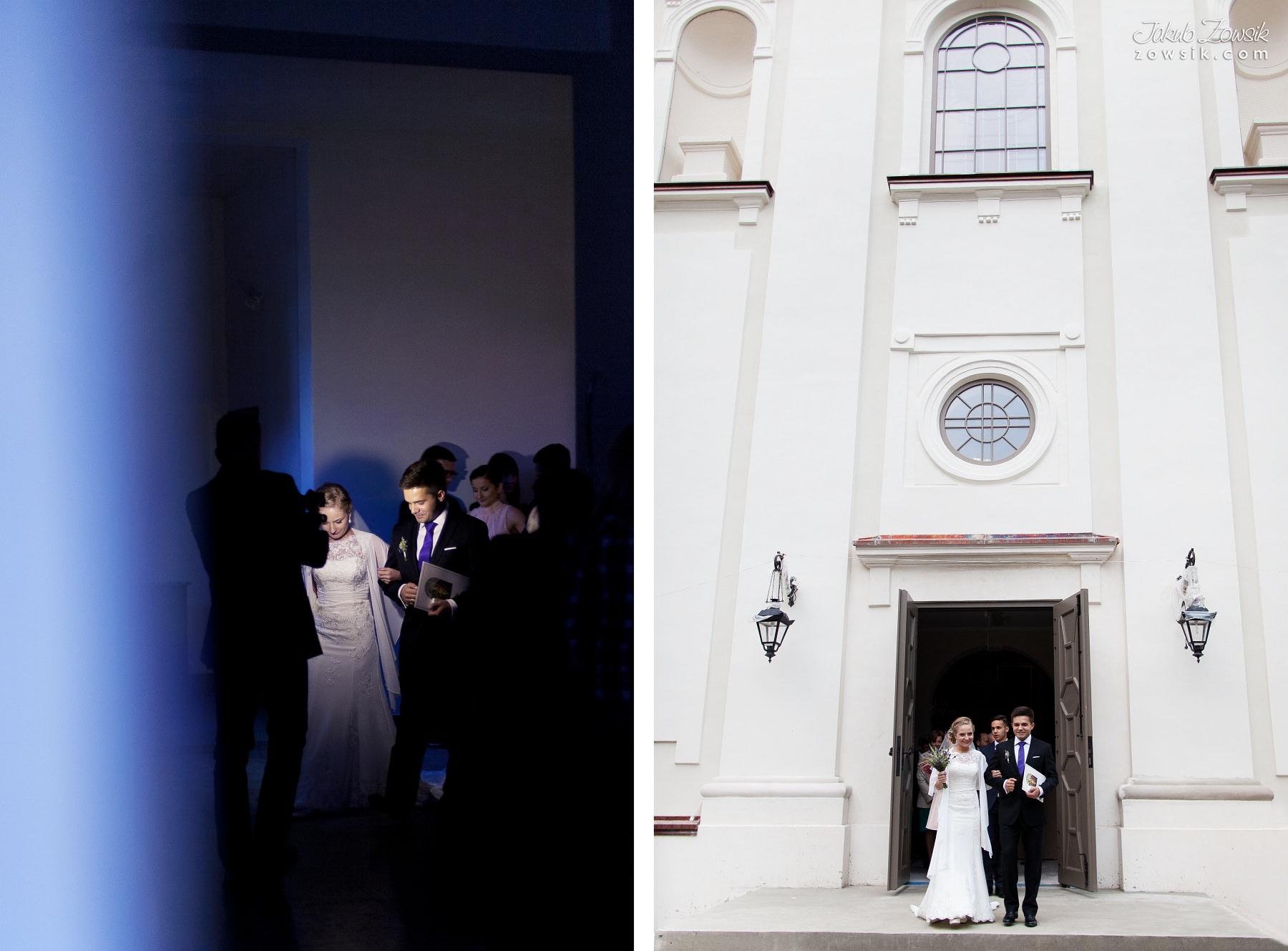 Ceremonia zaślubin. Ola i Łukasz.