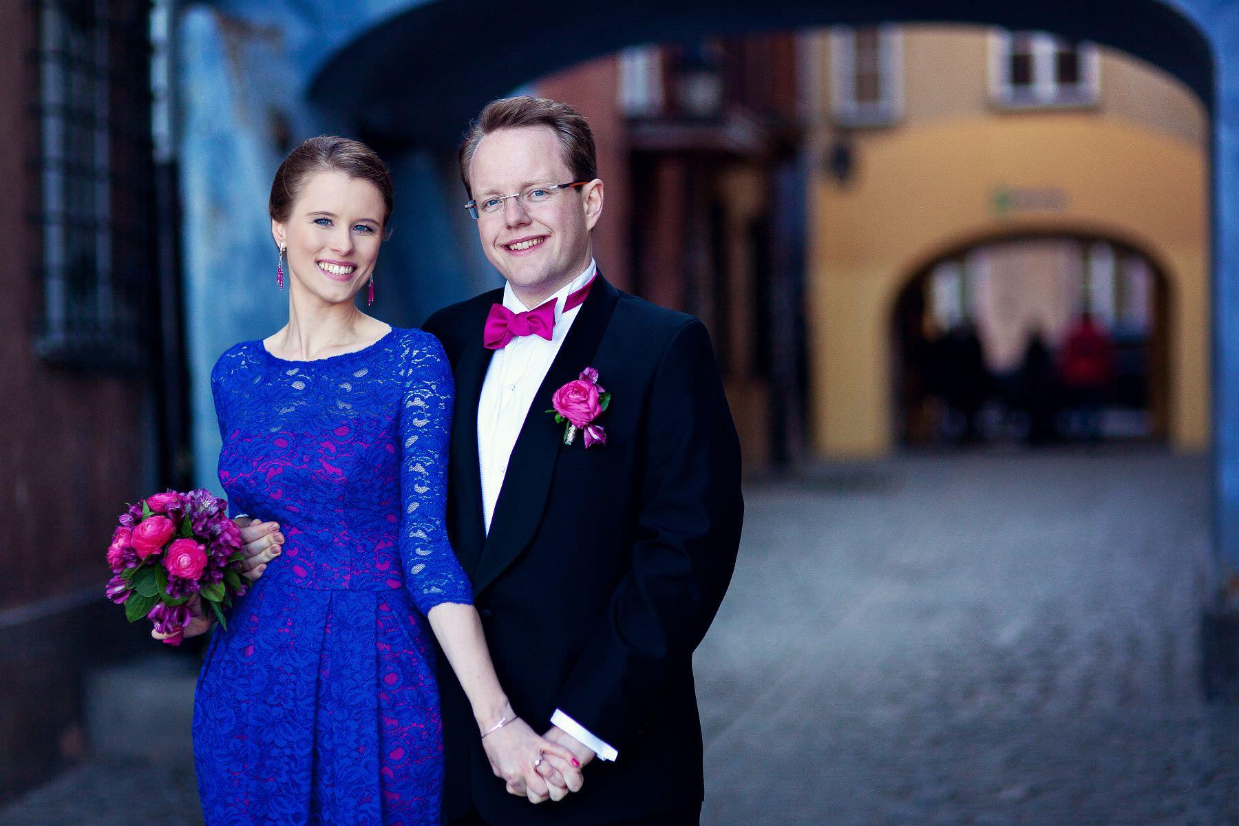 Monika i Wilhelm. Ślub w Warszawie.