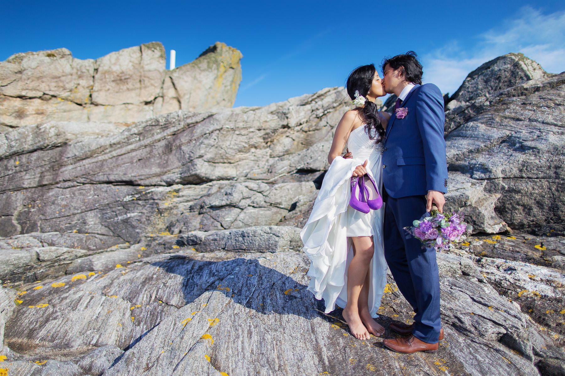 Norwegia | Stavanger. Rosa & Eduardo i Rafaela ;-)