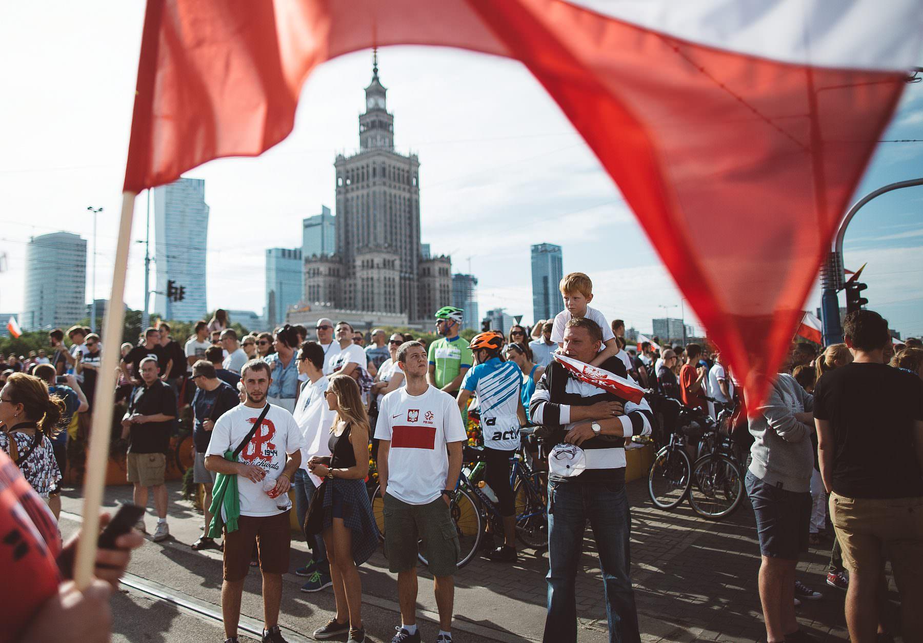71 rocznica wybuchu Powstania Warszawskiego. Warszawa (2015)