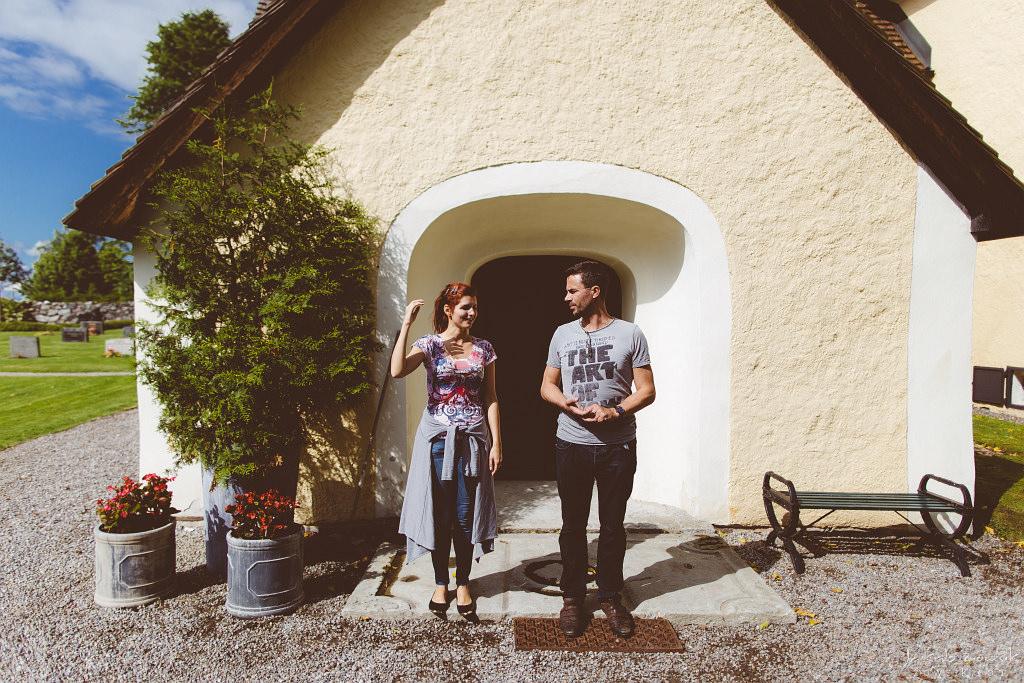 Agnieszka & Elias, reportaż ze ślubu | Nynäs Slott, Sztokholm, Szwecja 2