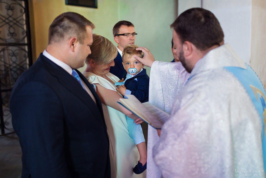 Staś, reportaż z chrztu | Darłowo (Darłówek) 9
