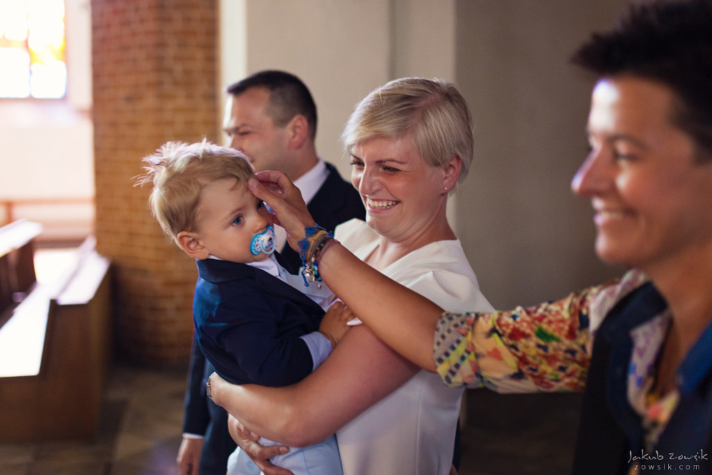Staś, reportaż z chrztu | Darłowo (Darłówek) 10