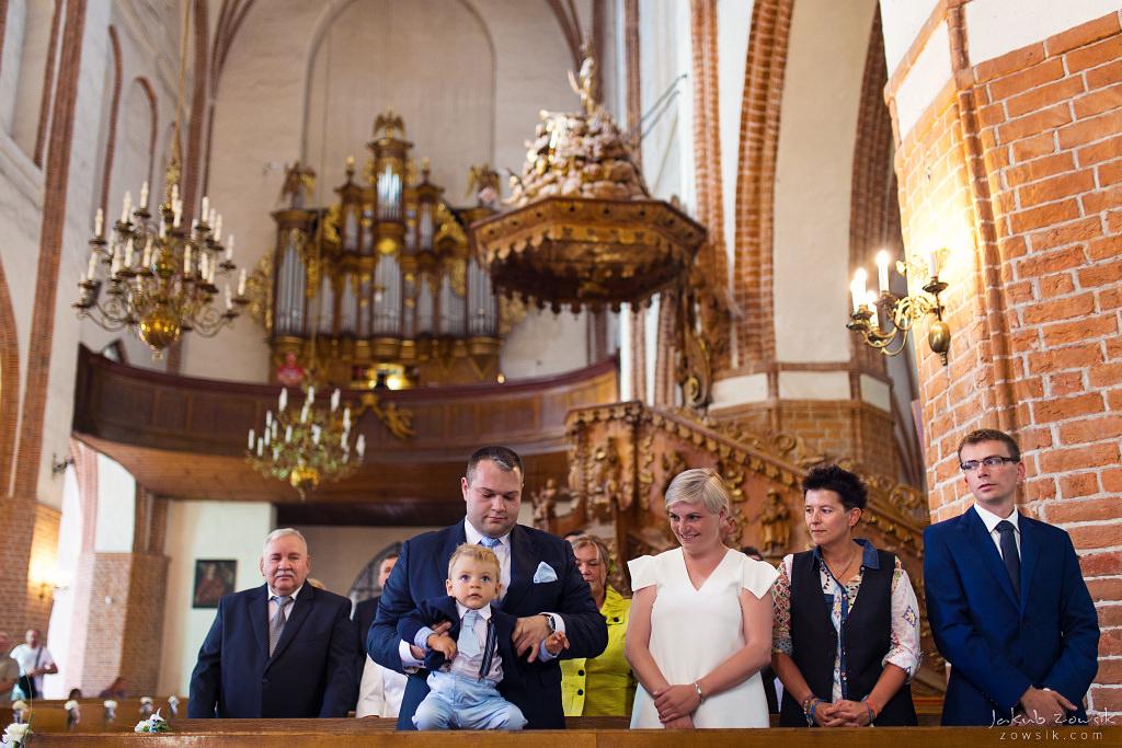 Staś, reportaż z chrztu | Darłowo (Darłówek) 14