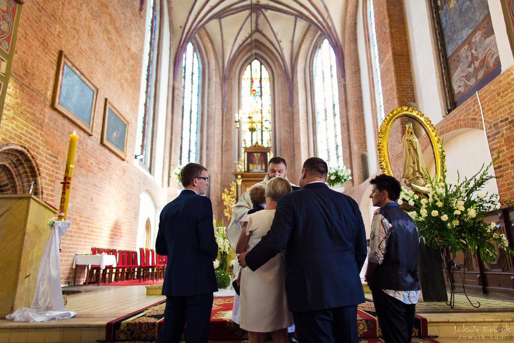 Staś, reportaż z chrztu | Darłowo (Darłówek) 16