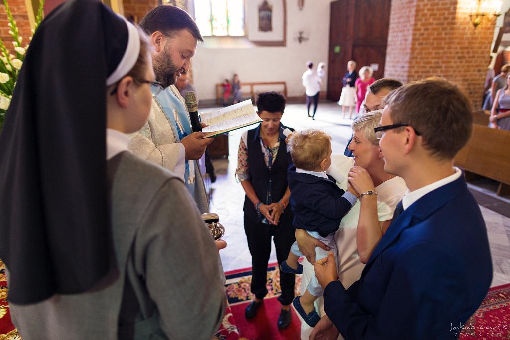 Staś, reportaż z chrztu | Darłowo (Darłówek) 18