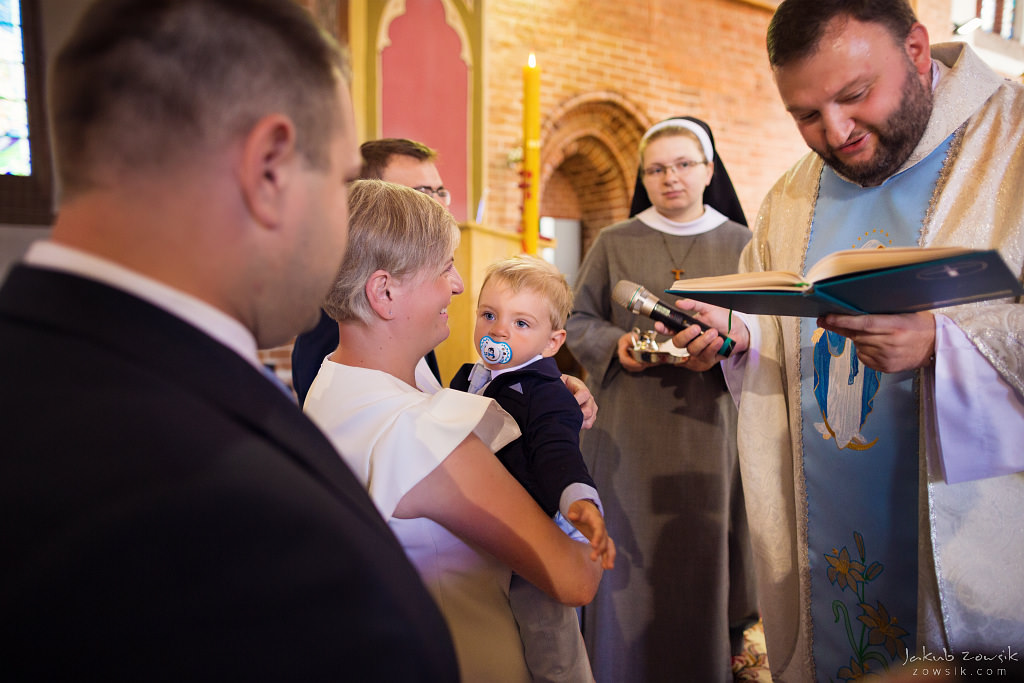 Staś, reportaż z chrztu | Darłowo (Darłówek) 19
