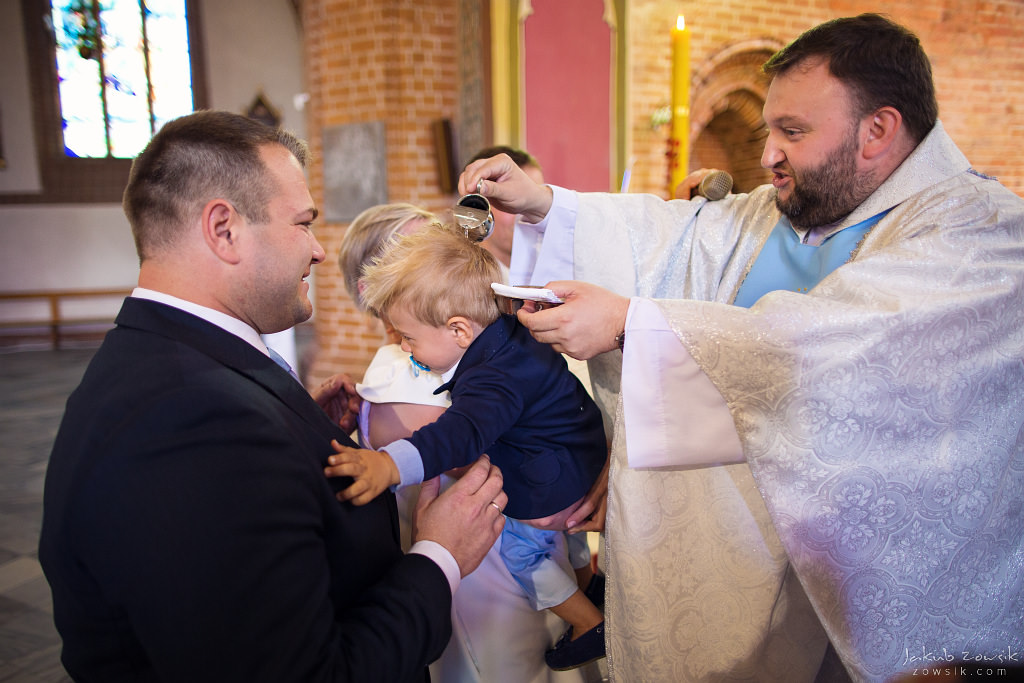Staś, reportaż z chrztu | Darłowo (Darłówek) 22