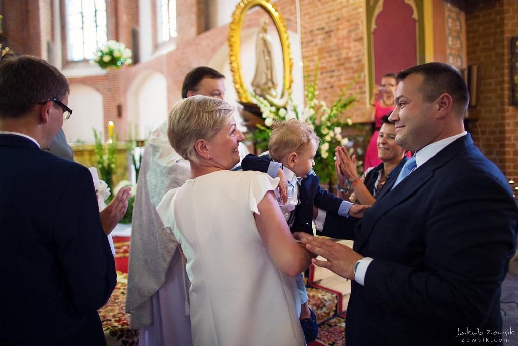 Staś, reportaż z chrztu | Darłowo (Darłówek) 23