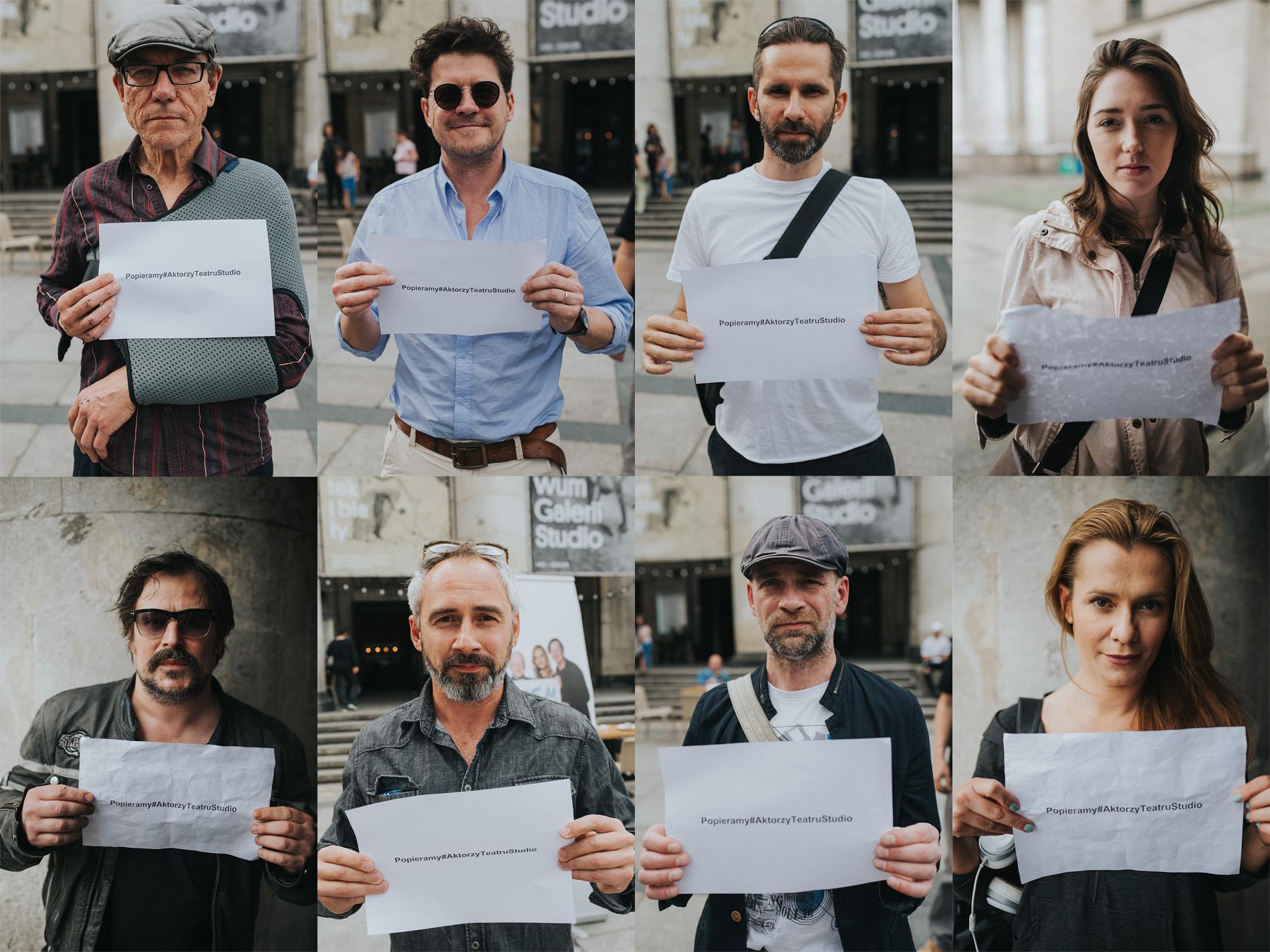 """Akcja """"Popieramy#AktorzyTeatruStudio"""""""