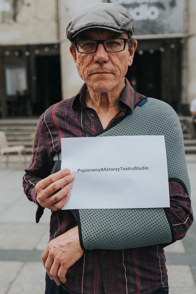 """Akcja """"Popieramy#AktorzyTeatruStudio"""" 13"""