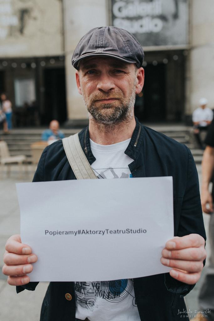 """Akcja """"Popieramy#AktorzyTeatruStudio"""" 15"""