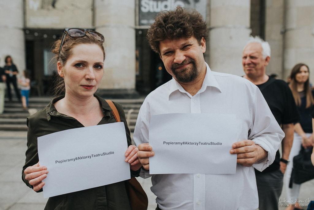 """Akcja """"Popieramy#AktorzyTeatruStudio"""" 16"""