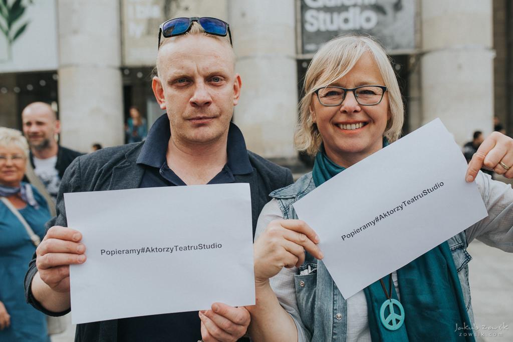"""Akcja """"Popieramy#AktorzyTeatruStudio"""" 17"""