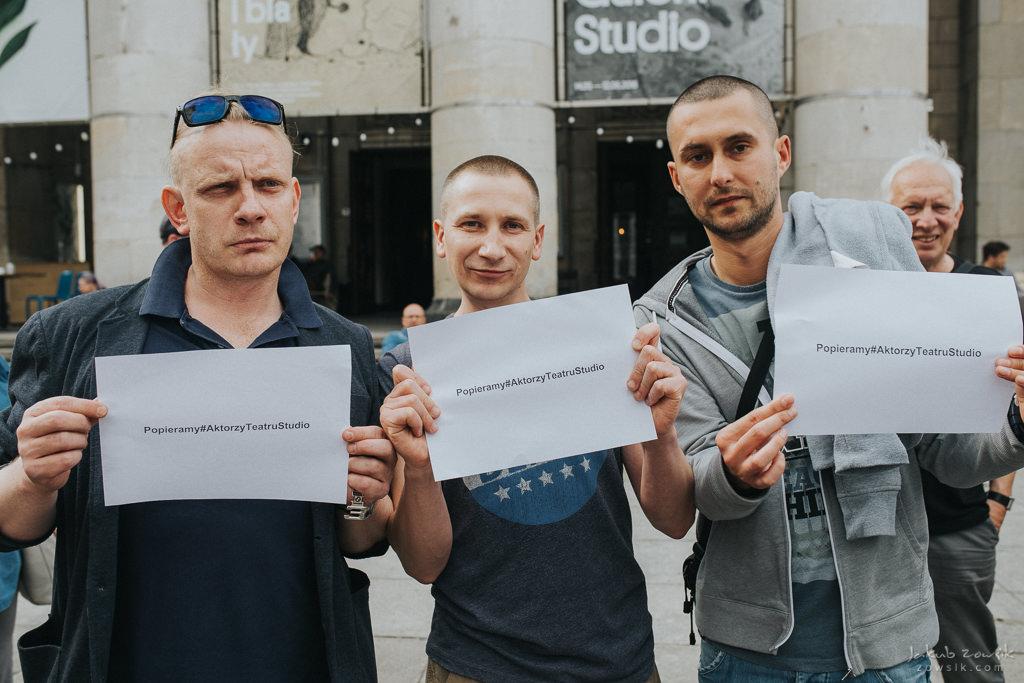 """Akcja """"Popieramy#AktorzyTeatruStudio"""" 18"""