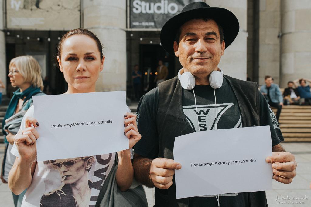"""Akcja """"Popieramy#AktorzyTeatruStudio"""" 21"""