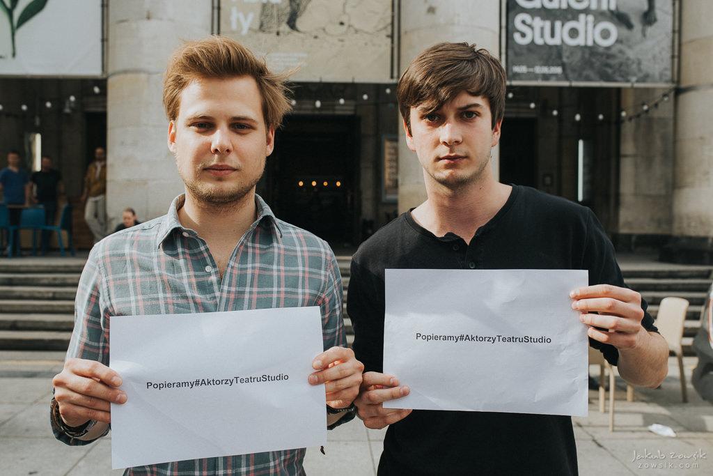 """Akcja """"Popieramy#AktorzyTeatruStudio"""" 24"""