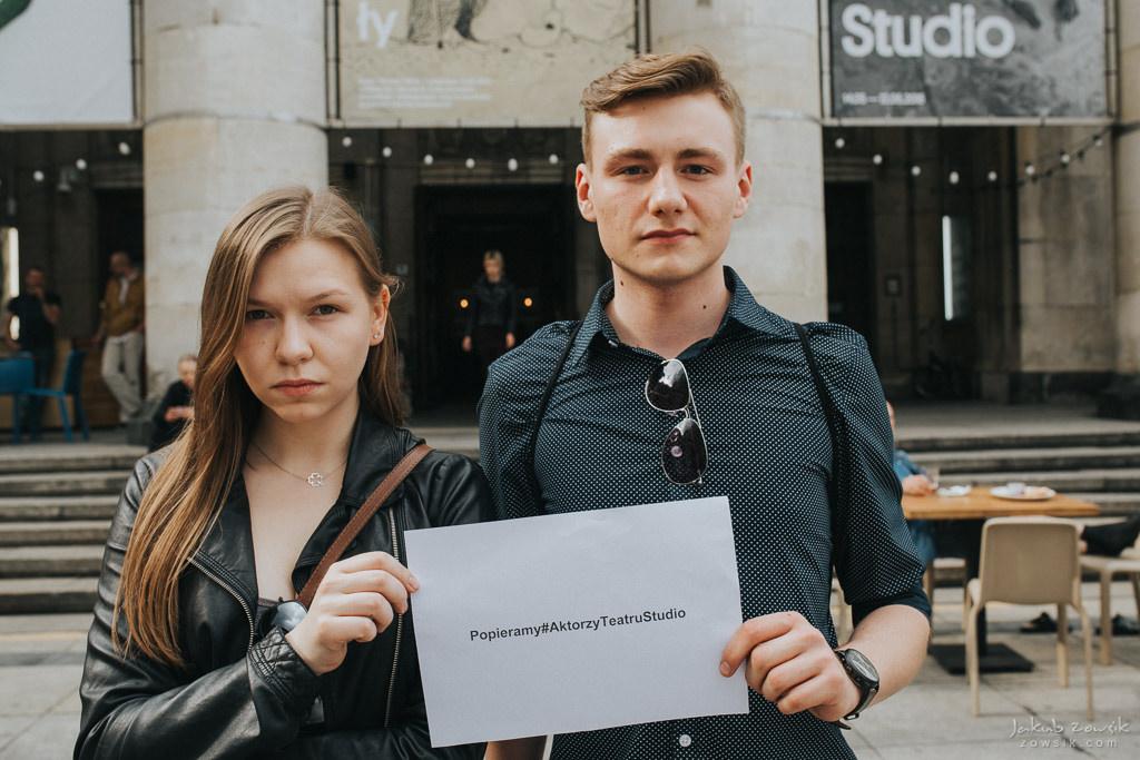 """Akcja """"Popieramy#AktorzyTeatruStudio"""" 27"""