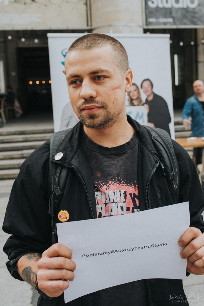 """Akcja """"Popieramy#AktorzyTeatruStudio"""" 35"""