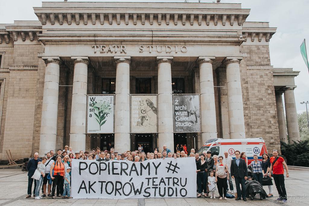 """Akcja """"Popieramy#AktorzyTeatruStudio"""" 10"""