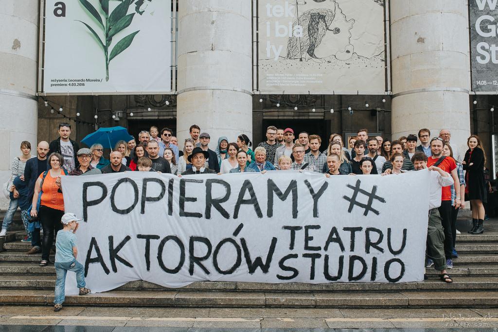 """Akcja """"Popieramy#AktorzyTeatruStudio"""" 63"""