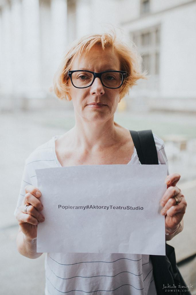 """Akcja """"Popieramy#AktorzyTeatruStudio"""" 40"""