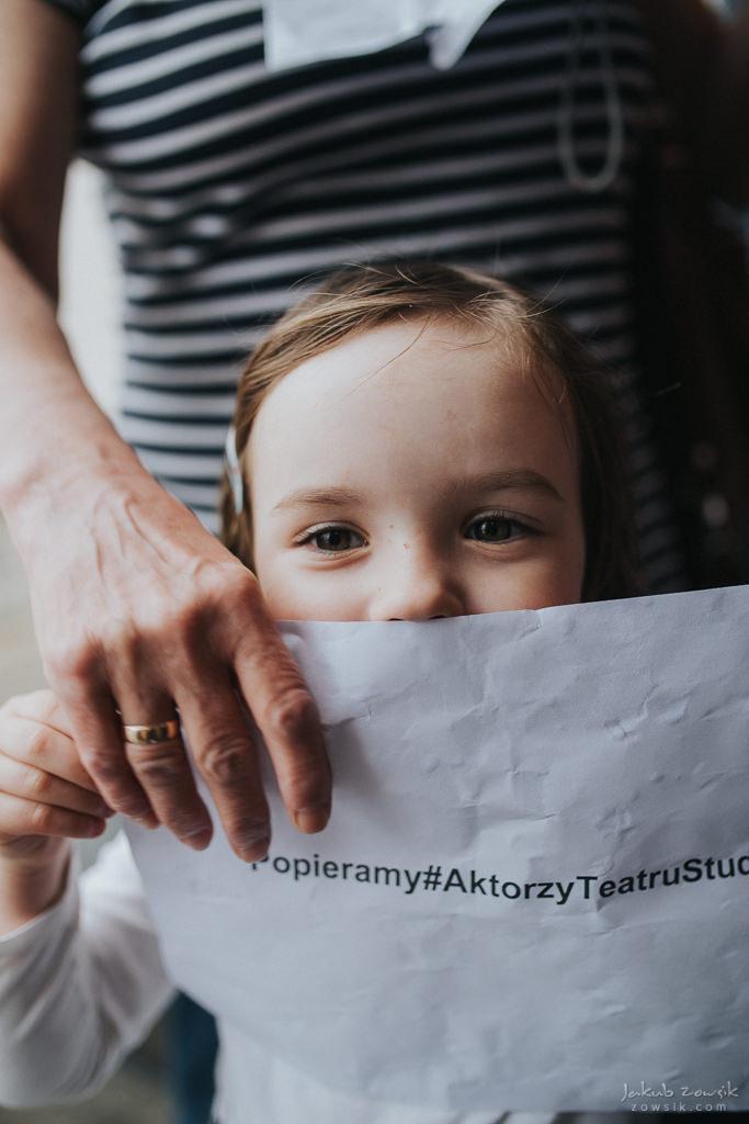 """Akcja """"Popieramy#AktorzyTeatruStudio"""" 45"""