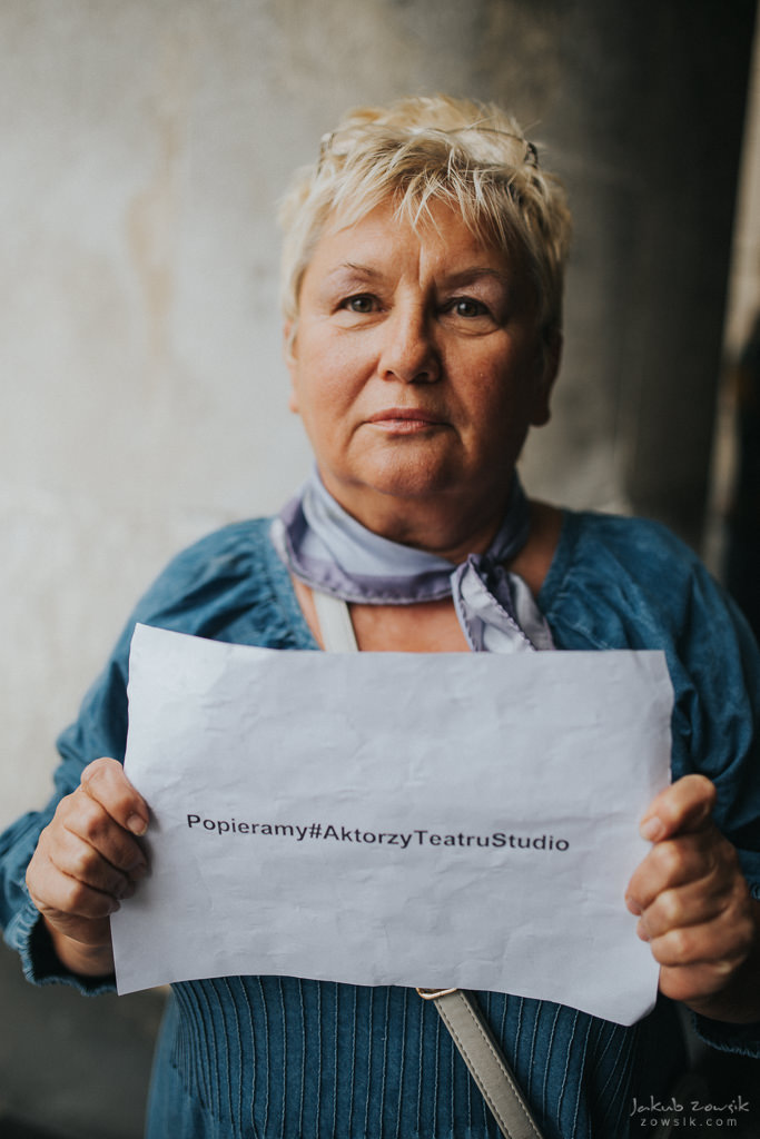 """Akcja """"Popieramy#AktorzyTeatruStudio"""" 54"""