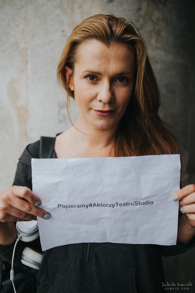 """Akcja """"Popieramy#AktorzyTeatruStudio"""" 61"""