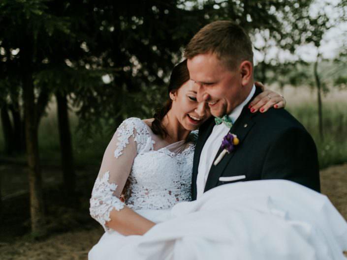 Magdalena & Sebastian, reportaż ślubny | Jedwabno