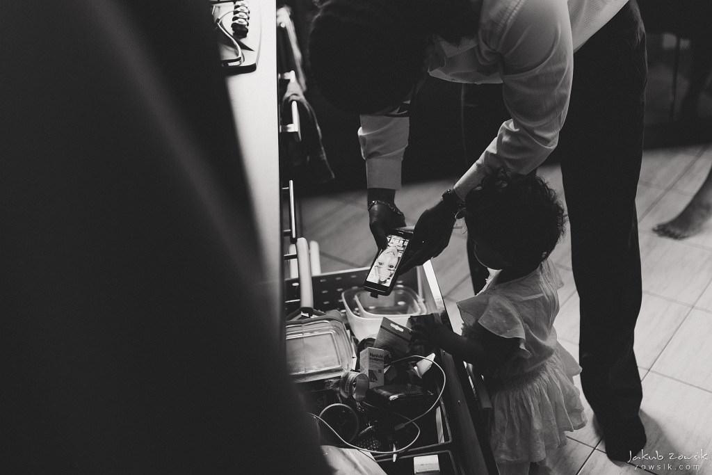 Zuzia | Reportaż z chrztu | Józefosław 9