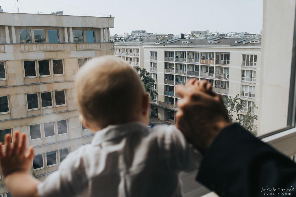 Vicente | Reportaż z chrzcin | Warszawa 16