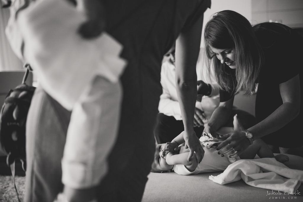 Dorian | Reportaż z chrzcin | Wilanów 9