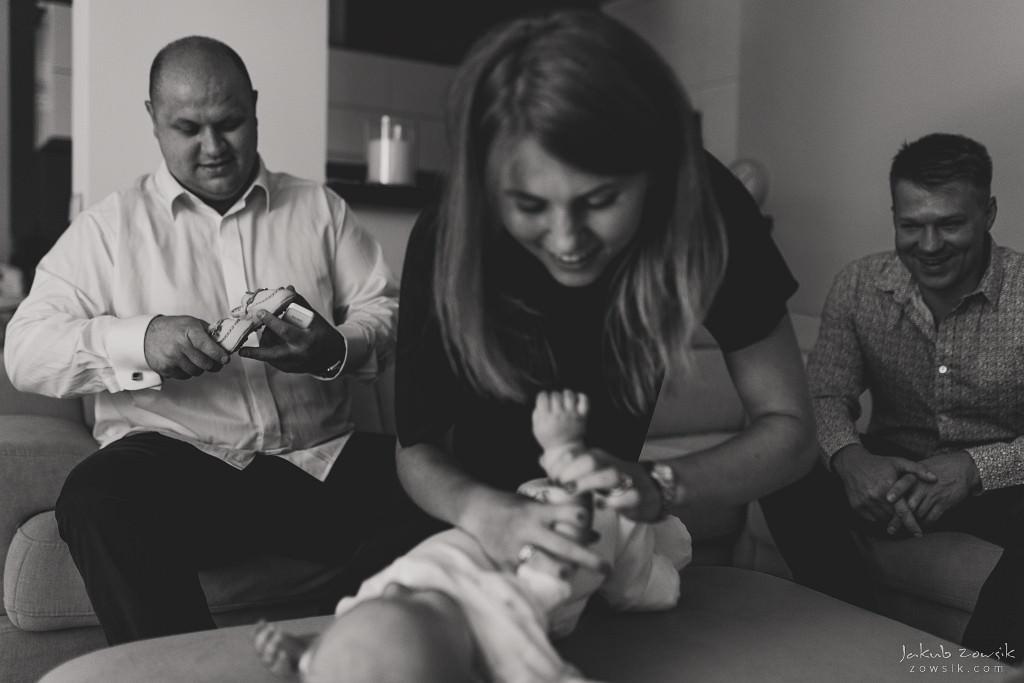 Dorian | Reportaż z chrzcin | Wilanów 11