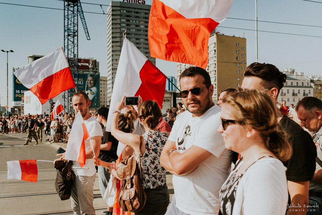 73 rocznica wybuchu Powstania Warszawskiego. Warszawa (2017) 19