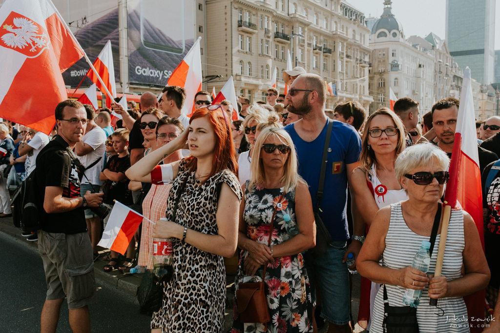 73 rocznica wybuchu Powstania Warszawskiego. Warszawa (2017) 29