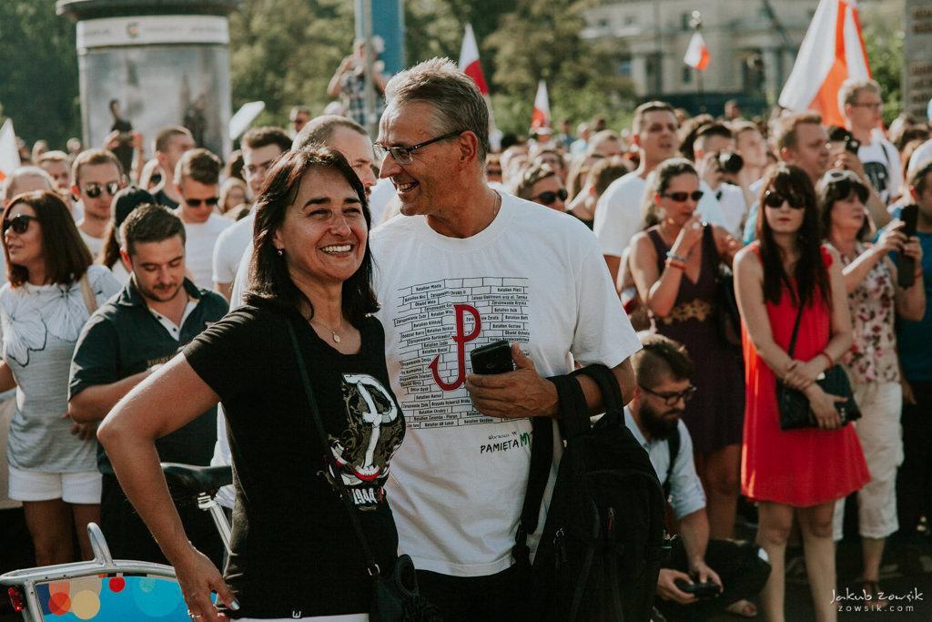 73 rocznica wybuchu Powstania Warszawskiego. Warszawa (2017) 30