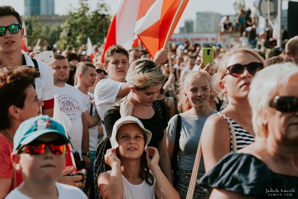 73 rocznica wybuchu Powstania Warszawskiego. Warszawa (2017) 32