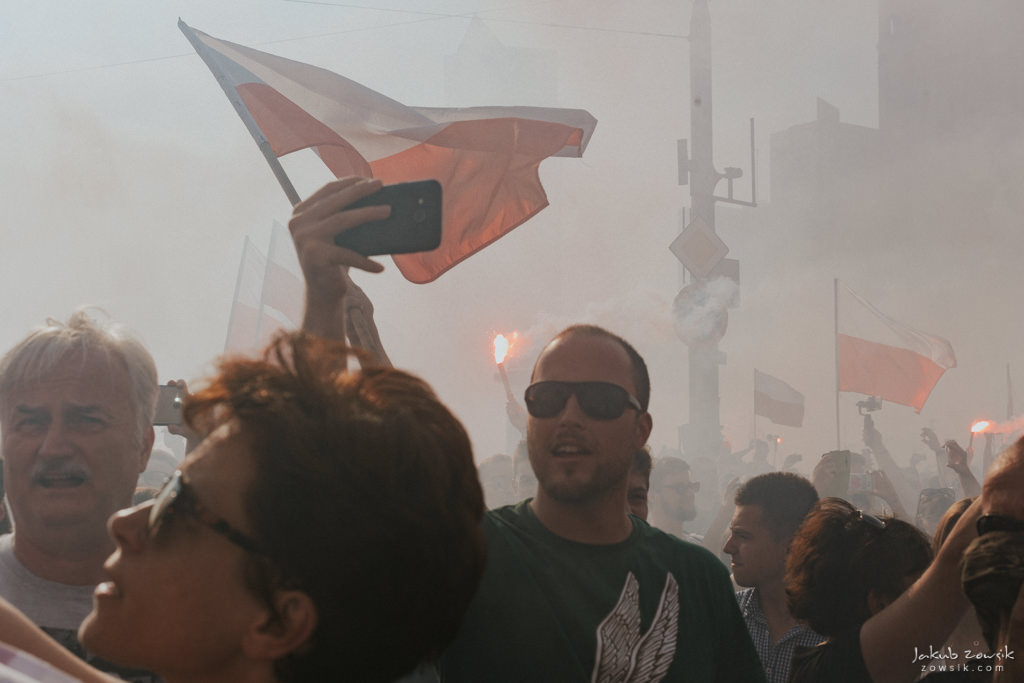 73 rocznica wybuchu Powstania Warszawskiego. Warszawa (2017) 36