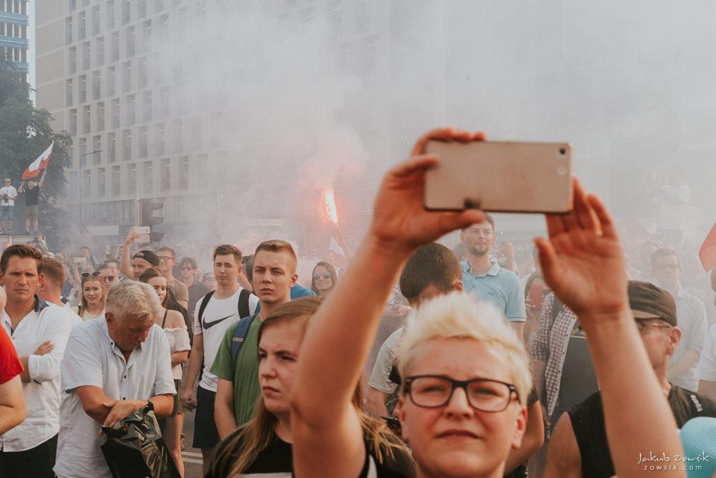 73 rocznica wybuchu Powstania Warszawskiego. Warszawa (2017) 43