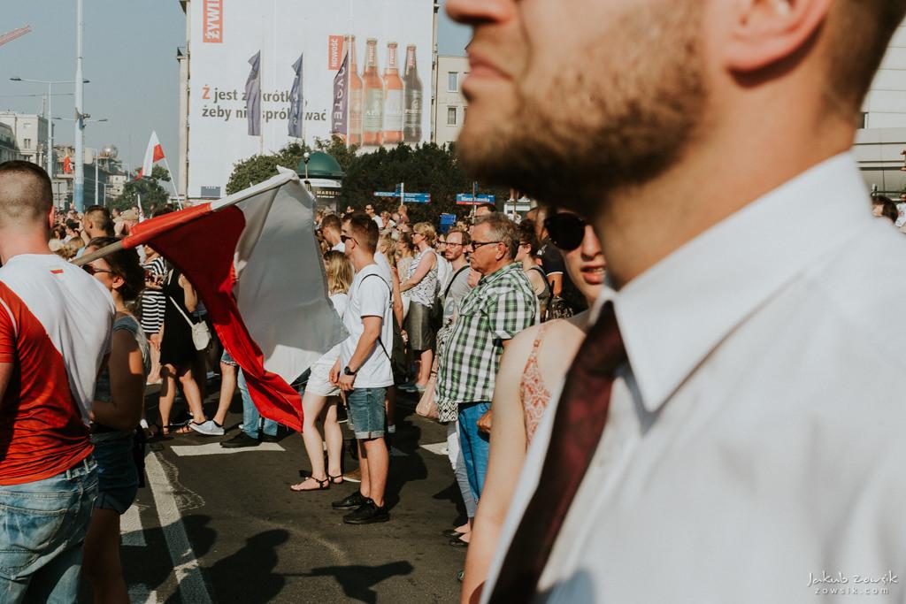 73 rocznica wybuchu Powstania Warszawskiego. Warszawa (2017) 45