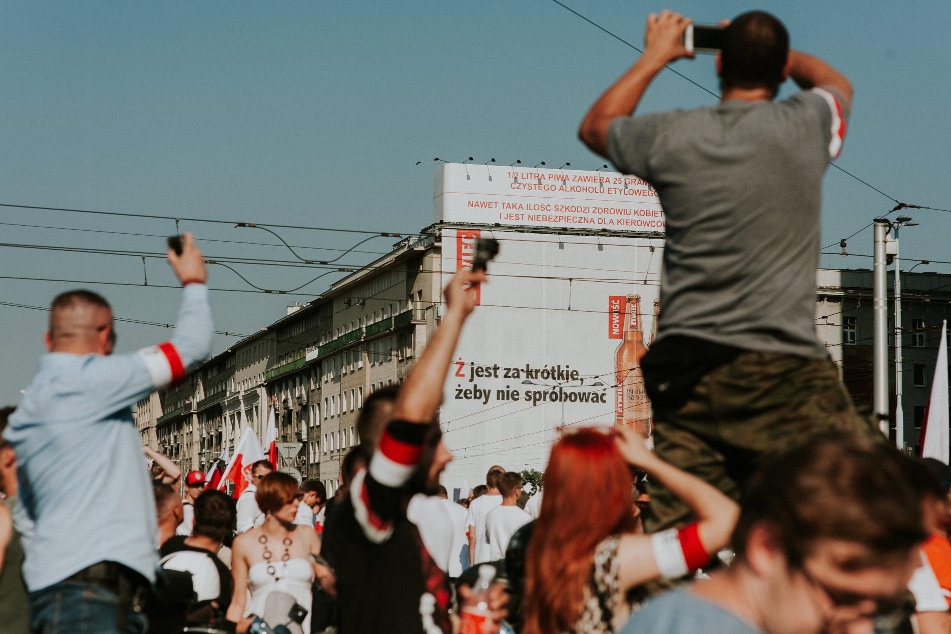 73 rocznica wybuchu Powstania Warszawskiego. Warszawa (2017)