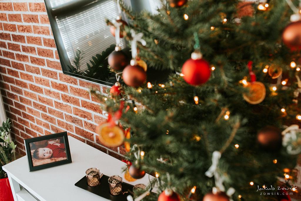 Antoś | Zdjęcia z chrzcin w Boże Narodzenie | Warszawa, Włochy 6