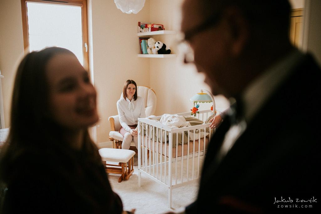 Antoś | Zdjęcia z chrzcin w Boże Narodzenie | Warszawa, Włochy 10