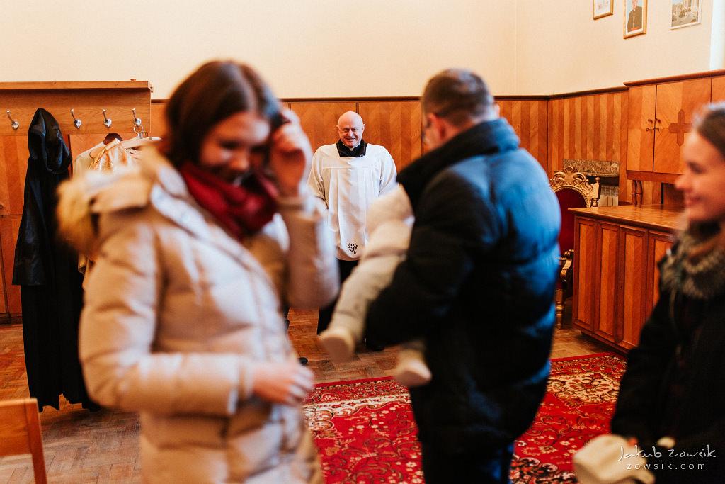 Antoś | Zdjęcia z chrzcin w Boże Narodzenie | Warszawa, Włochy 33