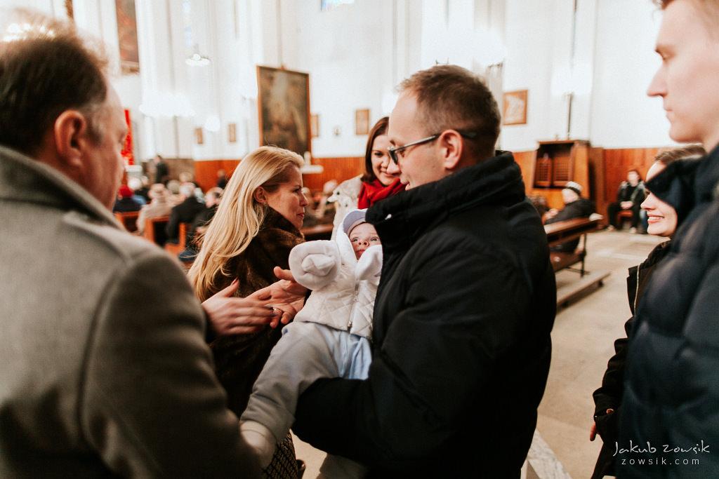 Antoś | Zdjęcia z chrzcin w Boże Narodzenie | Warszawa, Włochy 34