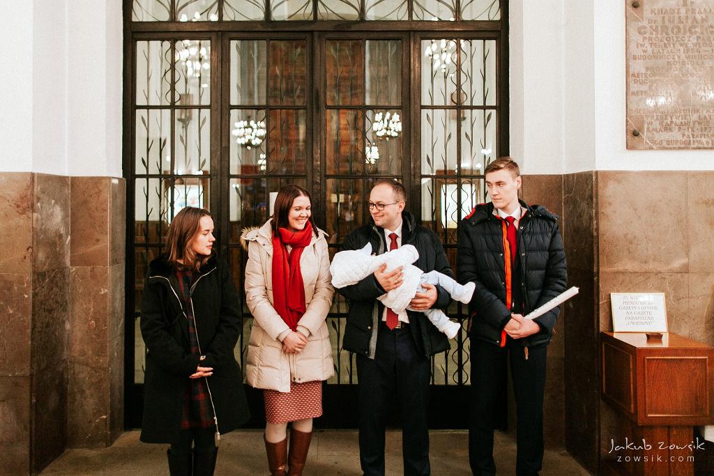 Antoś | Zdjęcia z chrzcin w Boże Narodzenie | Warszawa, Włochy 35