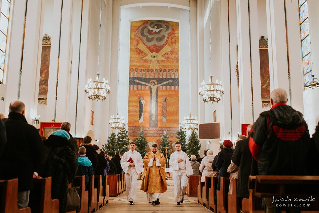 Antoś | Zdjęcia z chrzcin w Boże Narodzenie | Warszawa, Włochy 36